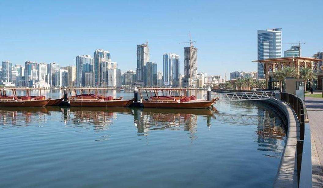 Abra Boat Ride @ Al Majaz Waterfront @ Sharjah