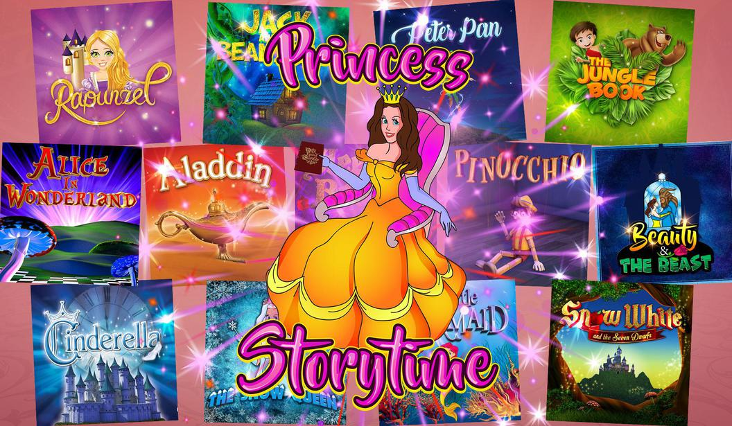 Princess Storytime @ Dubai, Book
