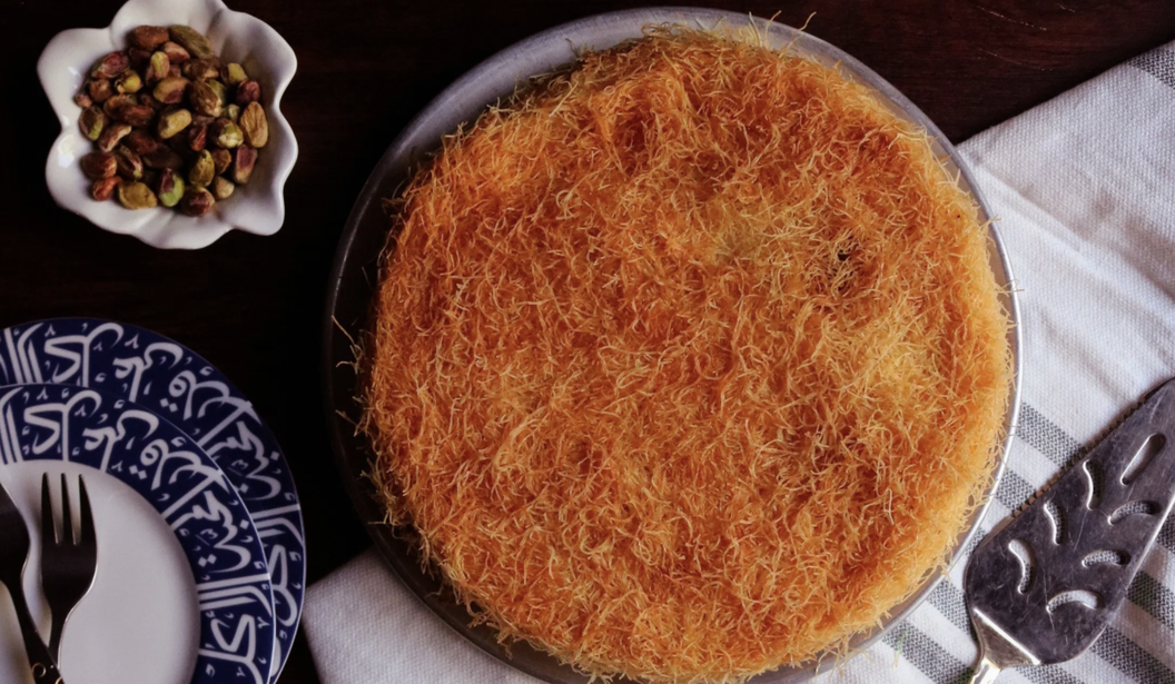 3 Ingredient Cheese Kunafa @ Dubai