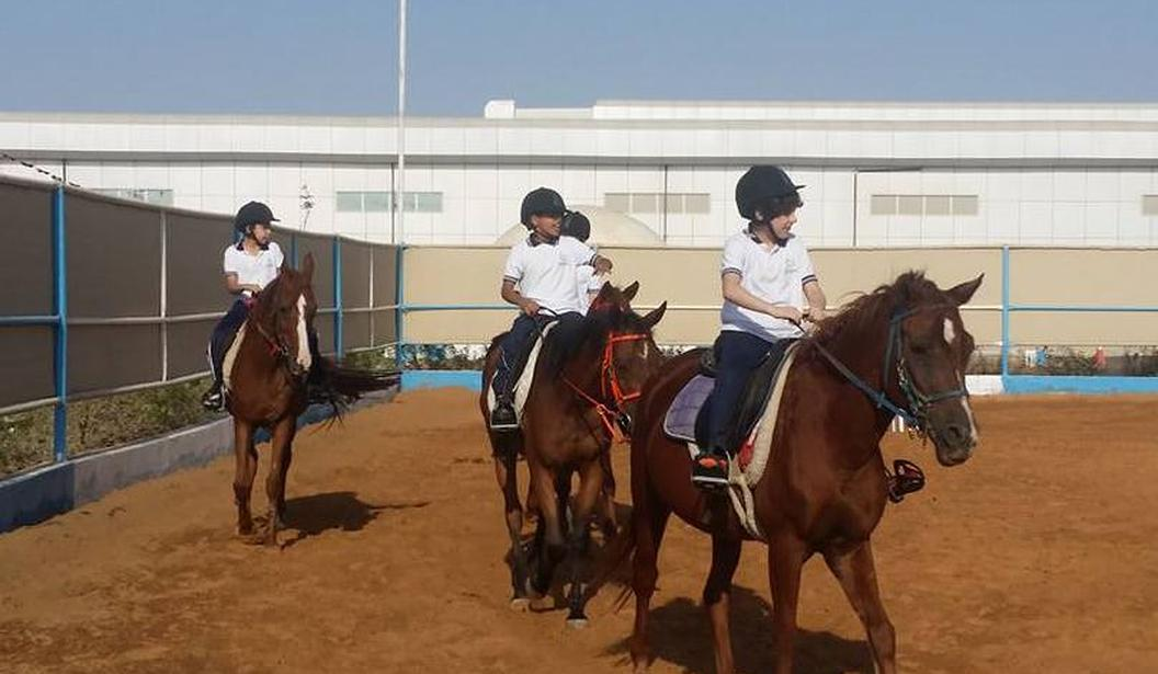 Riding School @ Baniyas Equestrian Centre @ Abu Dhabi