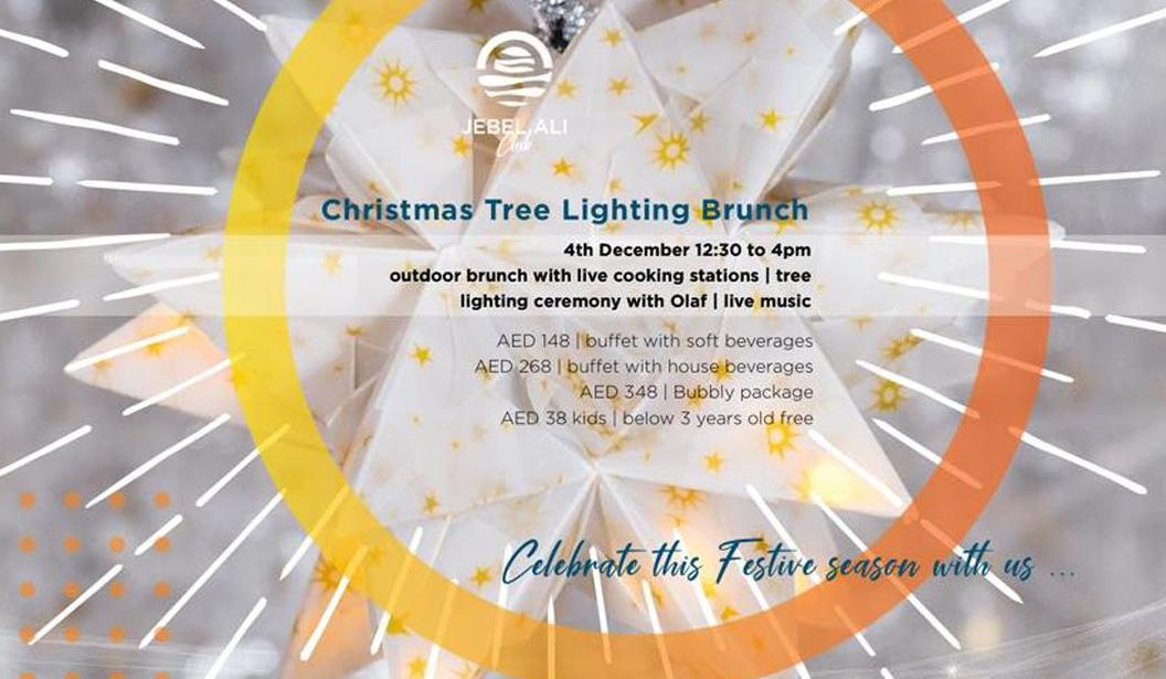 Christmas Tree Lighting Brunch @ Dubai
