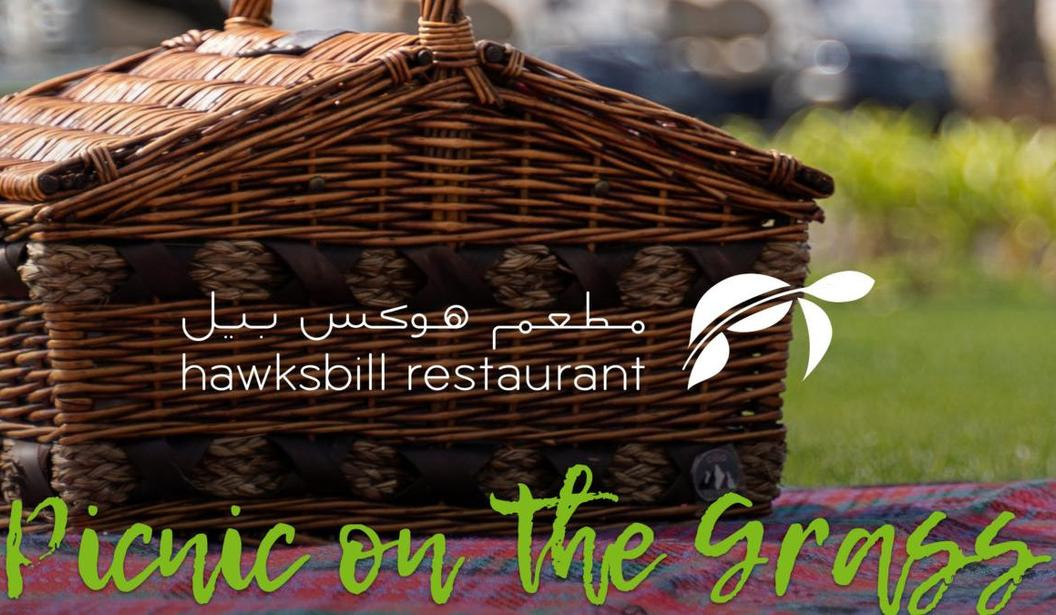 Picnic On The Grass at Hawksbill Restaurant @ Abu Dhabi