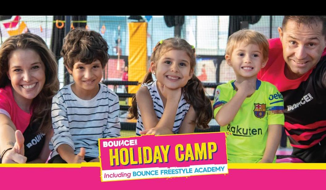Up to 15% off BOUNCE Midterm Holiday Camp @ Dubai, Deal, Offer, Coupon, Discount, Book