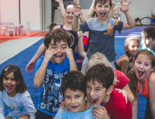 Kids Gymnastics @ Fly High Fitness @ Dubai