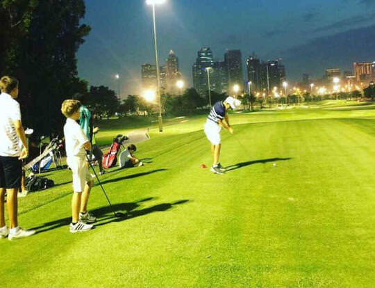 Kids' Night Golf @ Dubai