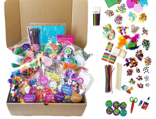 Laila's Ultimate Craft Box by Laila's Candy Cart @ Dubai
