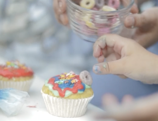 Le Petit Pinch Cup Cake Decorating Kit @ Dubai