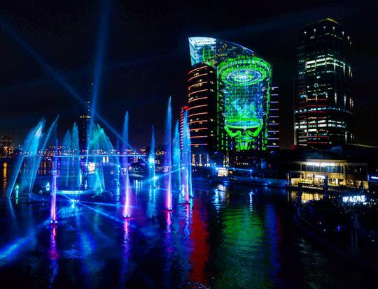 IMAGINE 3D Light & Water Show @ Dubai