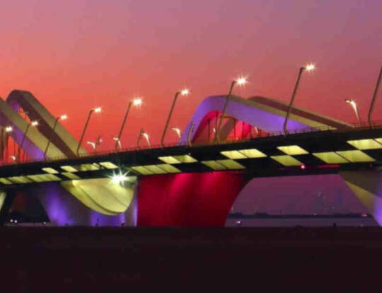 Sheikh Zayed Bridge @ Abu Dhabi