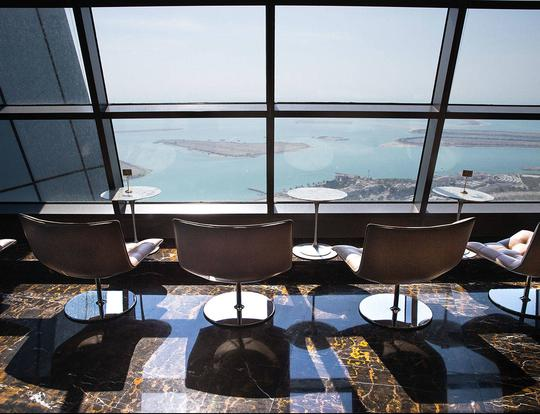 Observation Deck at Jumeirah at Etihad Towers @ Abu Dhabi