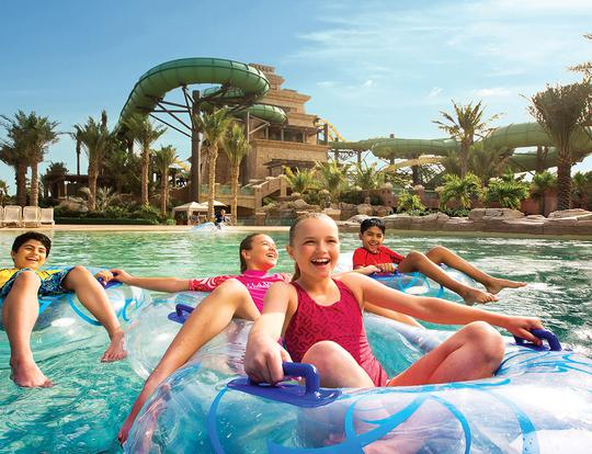 Aquaventure Waterpark, Atlantis, The Palm @ Dubai