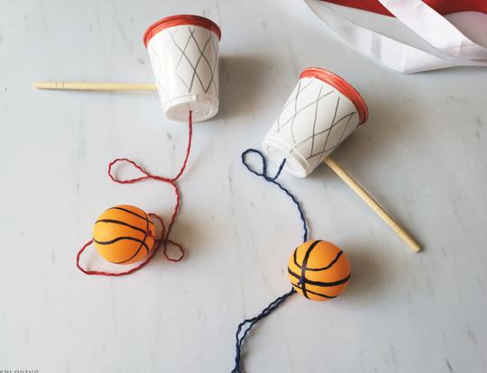 Basketball Cup & Ball Craft @ Dubai