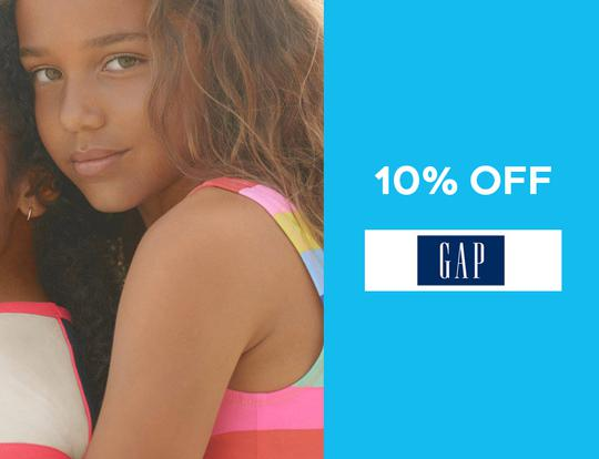 10% off gap.ae @ Dubai