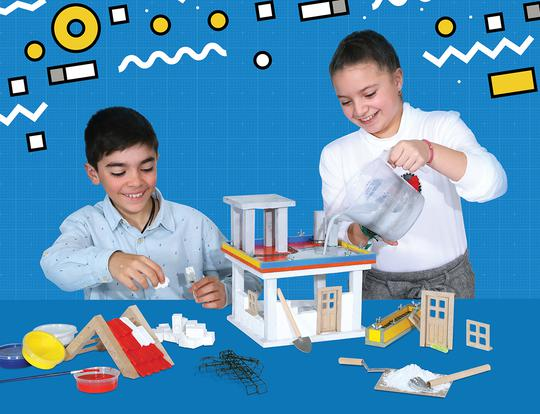 Build a Mini Home with Bildits Dubai  - Advanced Kit @ Dubai