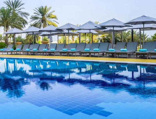 Pool & Beach Escape @ Le Royal Meridien Beach Resort & Spa @ Dubai