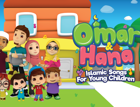Omar & Hana - Islamic Cartoons for Kids @ Dubai