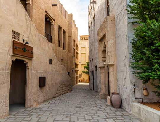 Al Fahidi Historical Neighbourhood @ Dubai