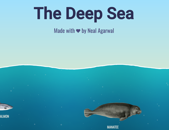 The Deep Sea by Neal Agarwal @ Dubai