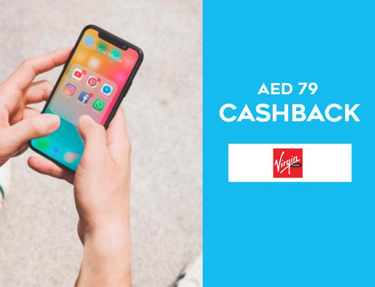 Cashback with Virgin Mobile @ Dubai