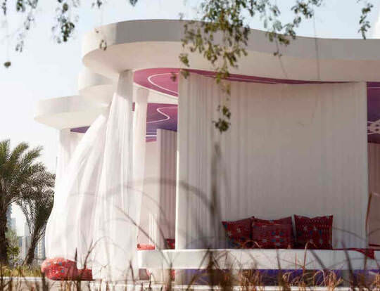 The Literature Pavilion @ Al Noor Island @ Sharjah