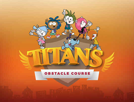 KidZania Titans Obstacle Course @ Dubai