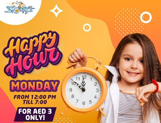 AED 3 Mondays at Sparky's @ Abu Dhabi