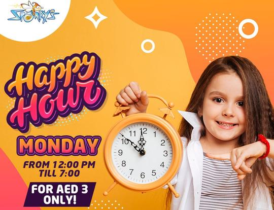 AED 3 Mondays at Sparky's @ Ras Al Khaimah