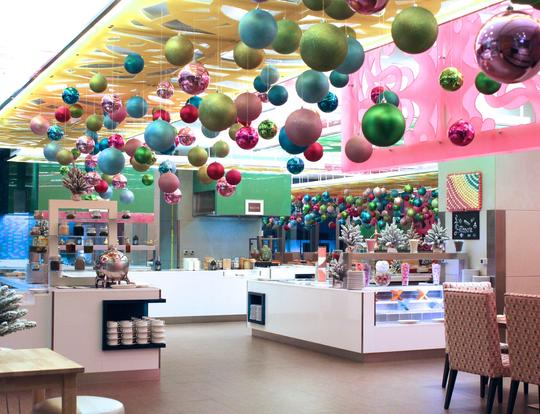 A Winter Wonderland at Les Cuisines' Gingerbread Factory @ Dubai