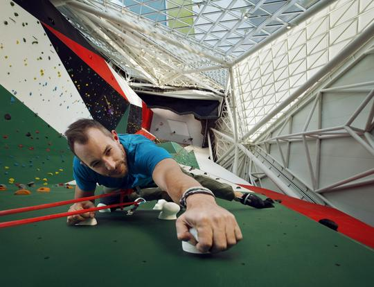 Bouldering and Auto-belaying Course at Clymb @ Abu Dhabi