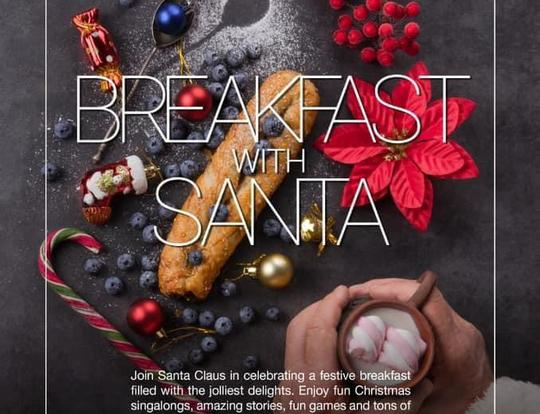 Breakfast with Santa at Market Kitchen @ Abu Dhabi