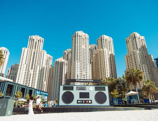 Eats & Beats at The Beach @ Dubai