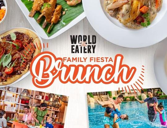 Family Fiesta Brunch at The World Eatery @ Dubai