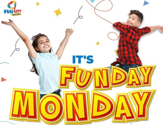 Funday Monday @ Fun City @ Sharjah