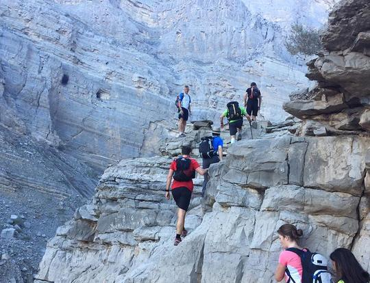 Hiking at Stairway to Heaven @ Ras Al Khaimah