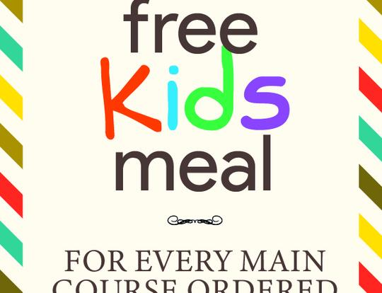 Kids Eat FREE at Reform @ Dubai