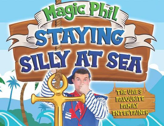 Magic Phil - Staying Silly at Sea @ Dubai
