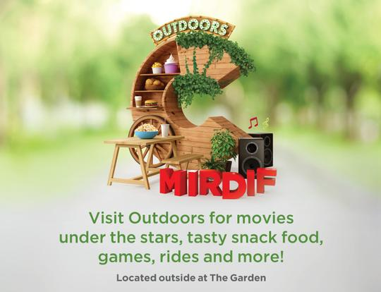 Outdoors at City Centre Mirdif @ Dubai