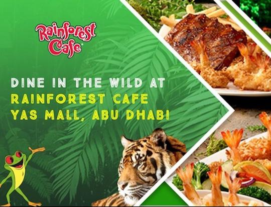 Rainforest Café @ Abu Dhabi