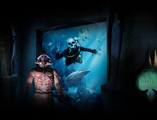 The Haunted Chambers at The Lost Chambers Aquarium - Copy @ Dubai