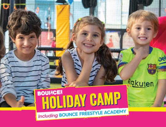 Up to 15% off BOUNCE Midterm Holiday Camp @ Dubai