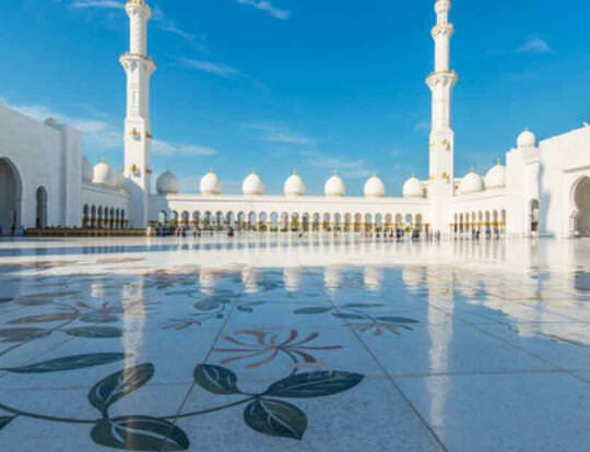Sheikh Zayed Grand Mosque @ Abu Dhabi