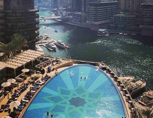 Pool Access at the Address Hotels Dubai @ Dubai