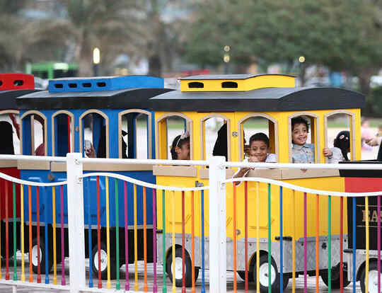 Family Train @ Sharjah