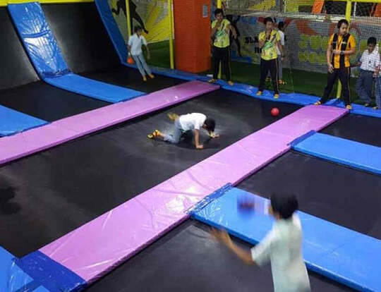 Dodgeball @ Jump World @ Sharjah