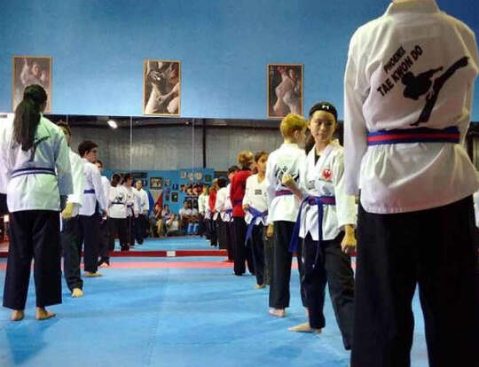 Tae Kwon Do Blue Belt 11-16yrs @ Dubai