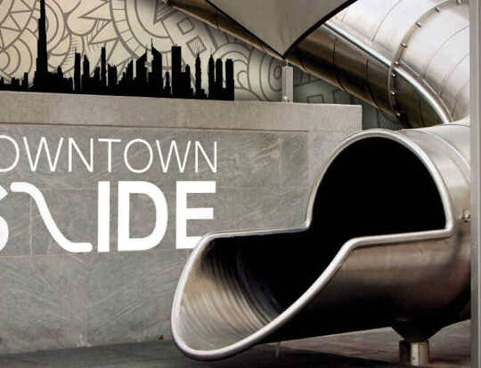 Downtown Slide @ Dubai