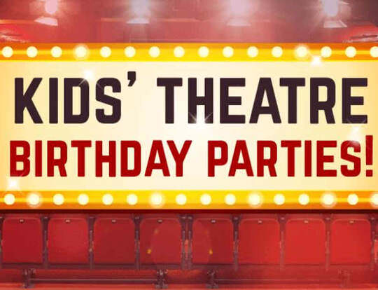 Kids Theatre Birthday Parties @ Dubai