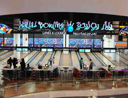 Yalla! Bowling at Playnation @ Dubai