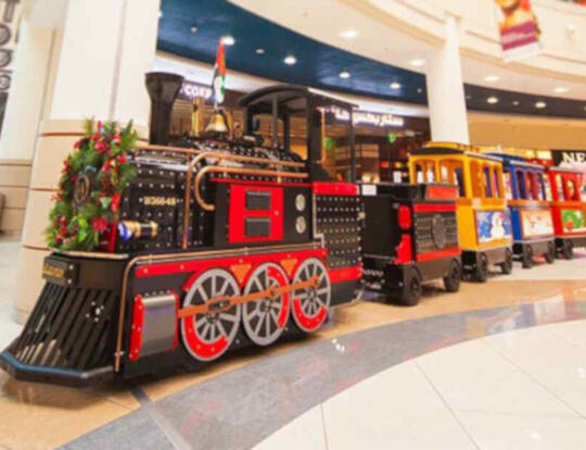 Mini-Express Train @ Al Wahda Mall @ Abu Dhabi