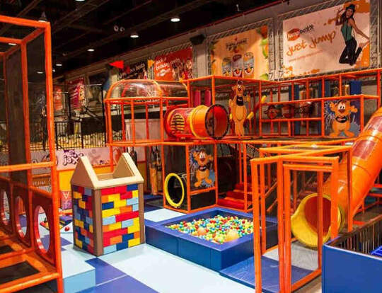 Softplay @ Jump Boxx @ Dubai